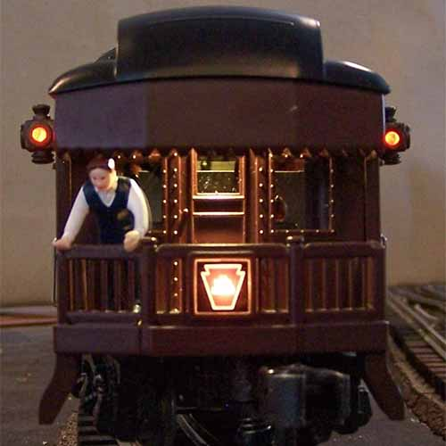 O Gauge Passenger LED Lighting