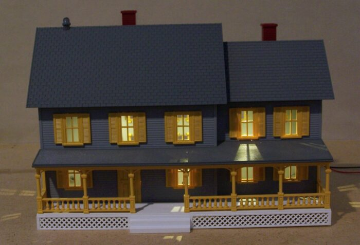 MTH Building w/3 LEDs